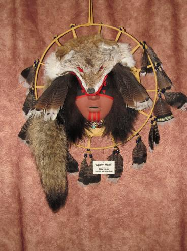 Red Coyote Dancer $450.00