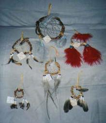 Dreamcatchers ( assorted sizes) sm, $10.00 / med. $20.00 / lg. $30.00  Willow