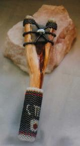 This bearwand was made to help find water & is used for healing others. Also known as a dowsing tool. Price: $200.00