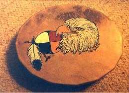 Eagle Drum ( $350) with 4 directions